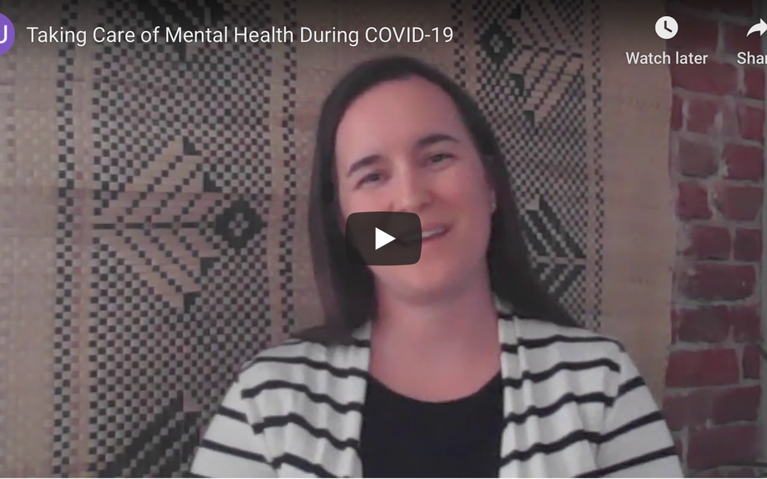 Mental Health Tips for Patients with Cancer During COVID-19